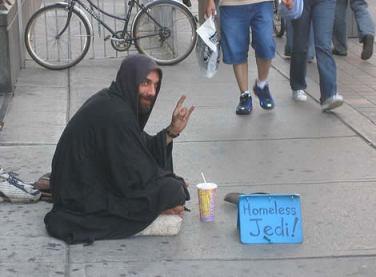 Homeless Yedi