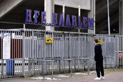 VOETBAL-STADION-HFC HAARLEM
