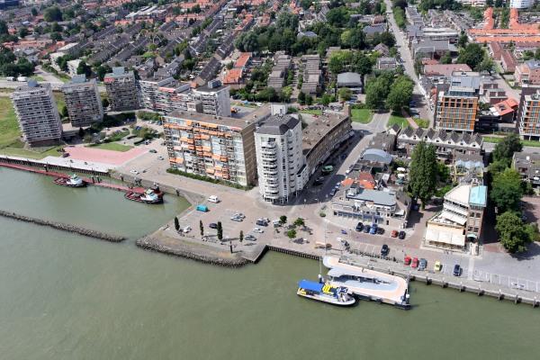 Waterbushalte_Zwijndrecht_Veerplein_luchtfoto
