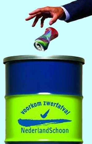 nederland-schoon-vuilnisbak