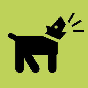 hond groen